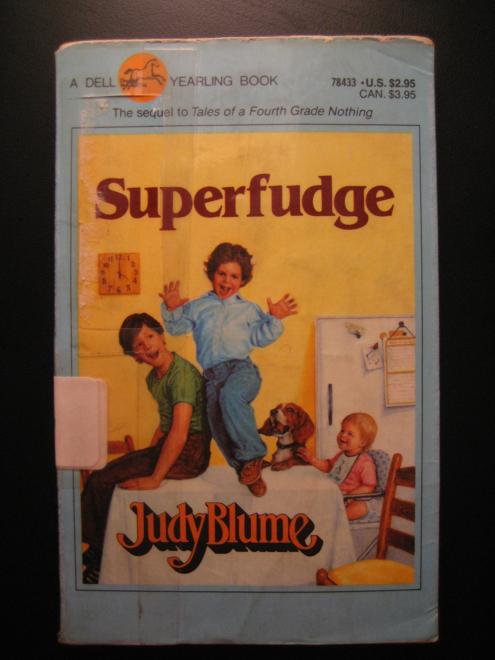 judy blume superfudge book report Written by judy blume, narrated by laura hamilton download the app and start listening to judy blume today - free with a 30 day trial keep your audiobook forever, even if you cancel don't love a book swap it for free, anytime.