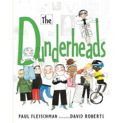 dundercover Toon Review: The Dunderheads by Paul Fleischman