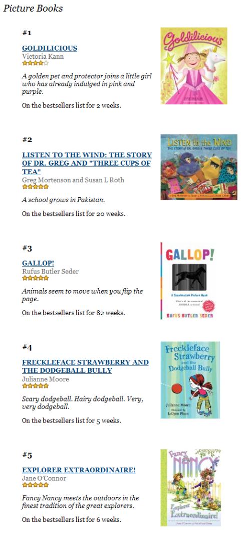 PictureBookBestsellers6-12-09