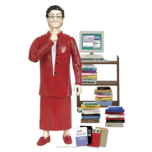 librarianactionfigure Reviewing Notes: Things Librarians Fancy