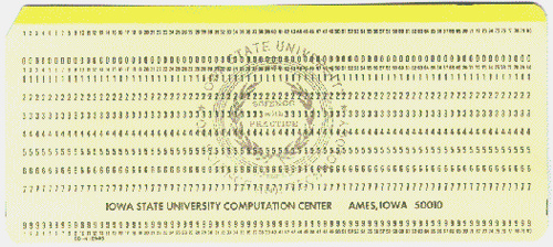 punchcard Reviewing Notes: Things Librarians Fancy